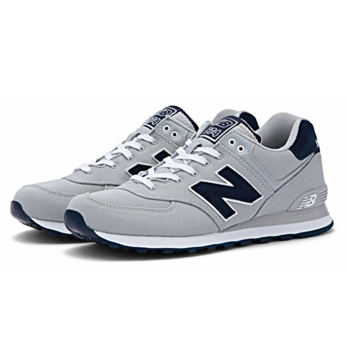 New balance 574 new balance ML574 POY [Gray] sneakers mens ladies men's  women's men's leadis sneaker newbalance store 2015 spring summer new
