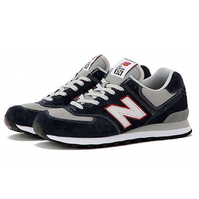 official photos 527f6 8b1af ●● men'ssneaker newbalance for the New Balance 574 suede sneakers new  balance NEW BALANCE ML574 VEC [eclipse] running shoes men sneakers man