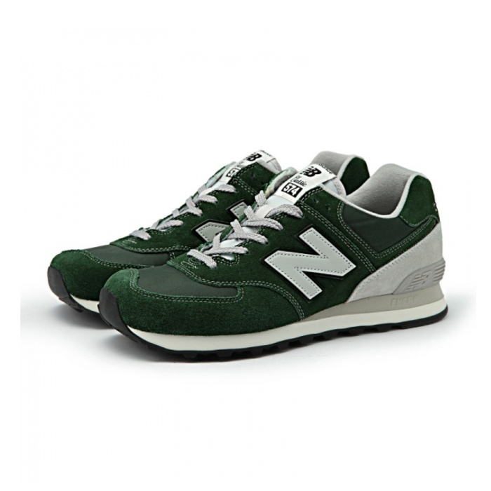 size 40 13d55 9e1ad ●● New Balance 574 regular article new balance ML574 VFO [green] sneakers  New Balance men gap Dis