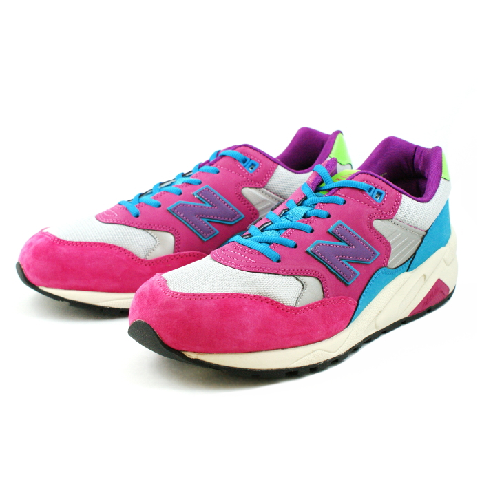 new styles 393aa 10aa9 ●● Running shoes men's ladies sneaker newbalance for the New Balance 580  NEW BALANCE MRT580 white / pink [WJ] New Balance men gap Dis sneakers man