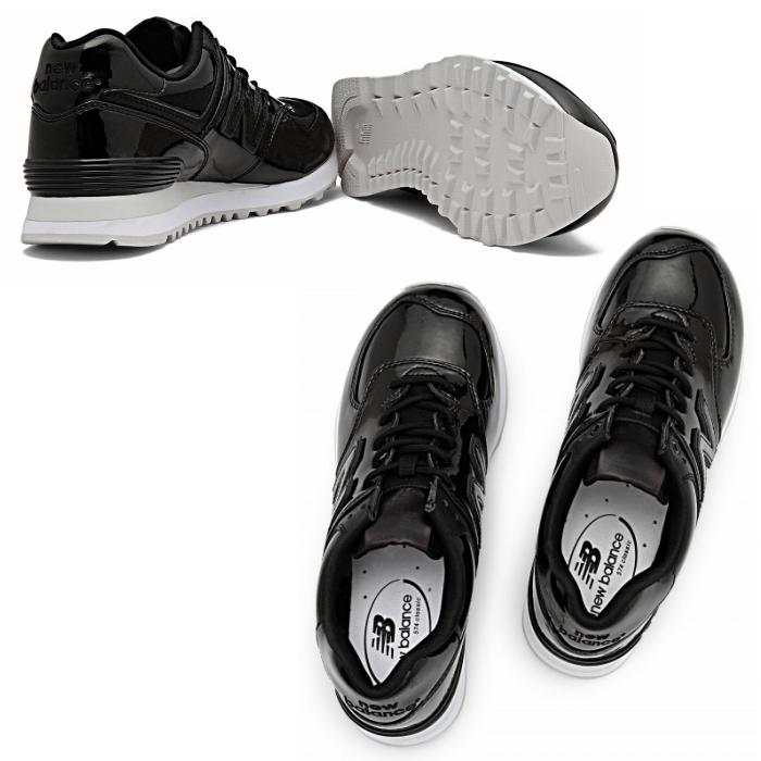 新平衡 574 女式运动鞋新平衡 WL574 鲍勃 [黑色] 新的平衡女士运动鞋 newbalance 2015 春夏新