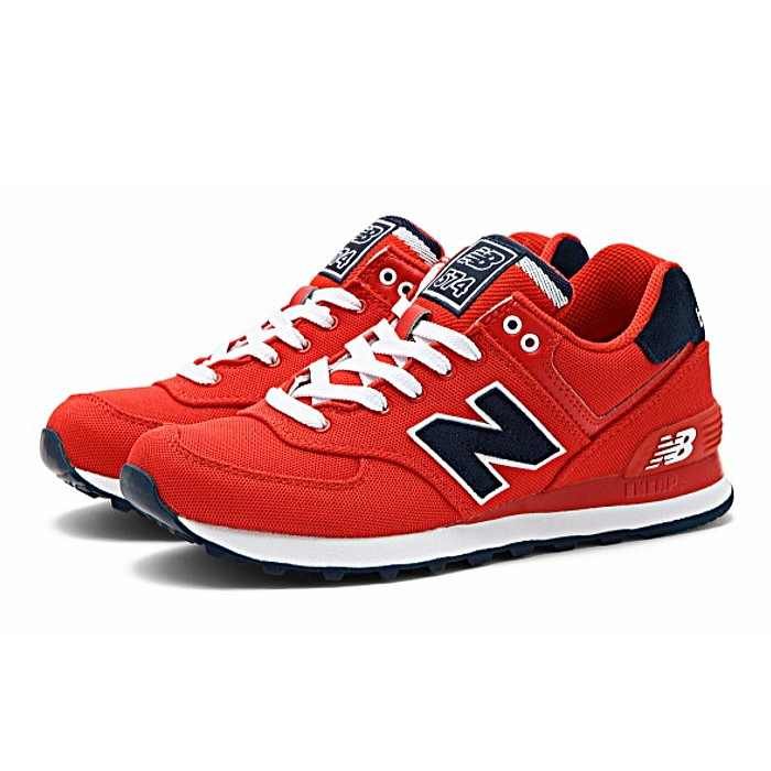 outlet store 98ee0 e57db ●● New Balance 574 Lady's sneakers new balance WL574 POR [bar city red] NEW  BALANCE ladies sneaker newbalance 2015SS