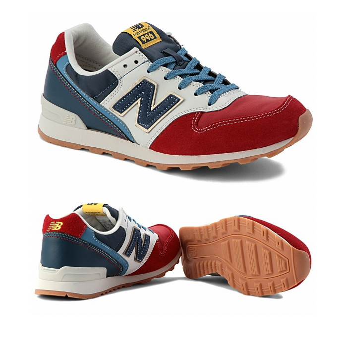 leadis sneaker newbalance for 996 New Balance new balance WR996 DJ [jasper  red] Lady's sneakers women