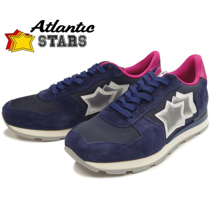 アトランティックスターズ メンズ スニーカー Atlantic STARS ANTARES アンタレス NAVY レザー カジュアル シューズ ローカット 靴 men's sneaker 送料無料 2019春夏新作 【あす楽対応】 【コンビニ受取対応】