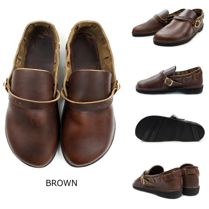 费尔南多 · 皮弗尔南多皮革中古英语女士皮革鞋平跟鞋