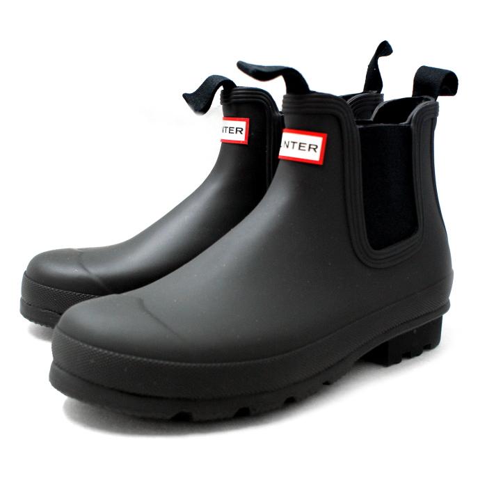 3b7e514cff2 Hunter rain boots men's genuine HUNTER ORIGINAL CHELSEA TWO TONE 9020  Couleur original Chelsea [Black] men's rubber boots rain shoes men's rain  boots ...