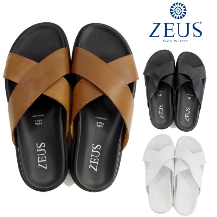 宙斯ZEUS 1733吊带凉鞋皮革凉鞋人皮革意大利制造MADE IN ITALY 2017春天夏天新作品