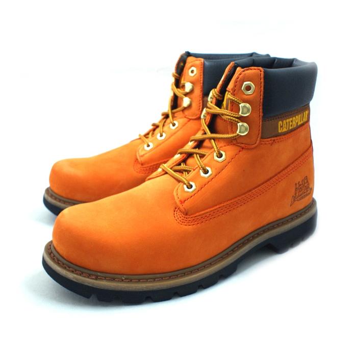 Caterpillar boots men's CATERPILLAR COLORADO Colorado P717690 [BURNT  ORANGE] men's boots leather work trekking boots men's boots 2014 Winter new