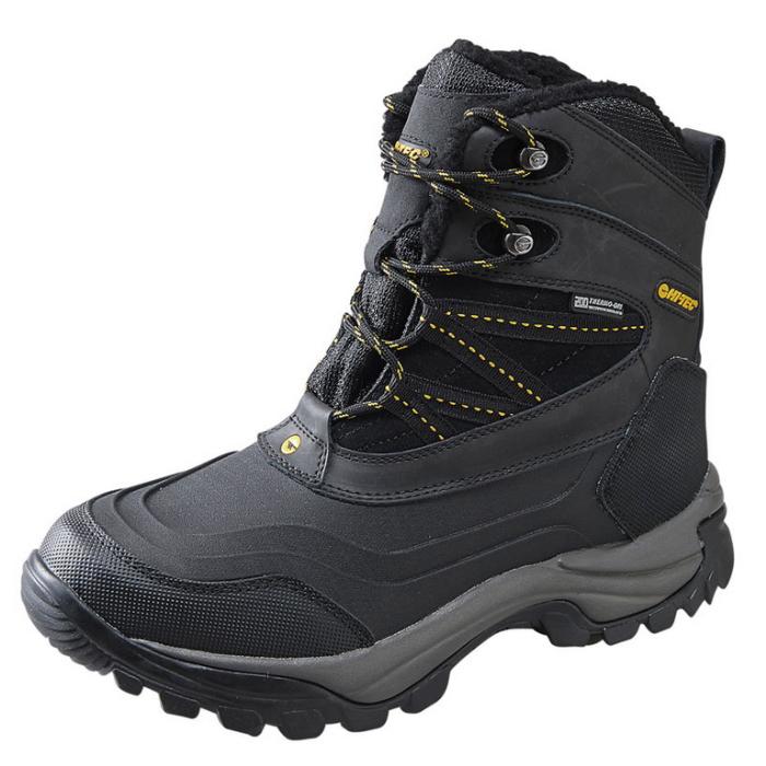 0058056e938 High-Tec boots boots mens waterproof anti-slip snowshoe HI-TEC SNOW PEAK WP  [Black/Gold] non-slip boots boots rain boot men's outdoor toy against the  ...