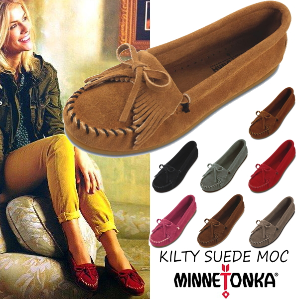Shoes ladies moccasin shoes for the Mine Tonka moccasins regular article  MINNETONKA KILTY SUEDE MOC kill Thijs aide mock Lady s moccasins shoes  suede cloth ... 972a6c7f5