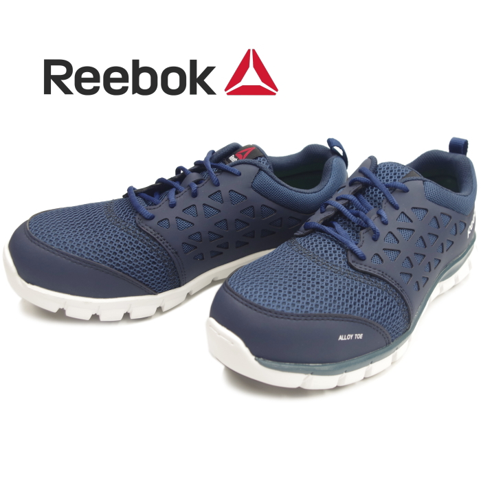 b9439f8a0cd8 Reebok Reebok sneakers men RB4043 SUBLITE WORK navy work shoes safety boots  light weight low-frequency cut 2018 new work in the fall and winter