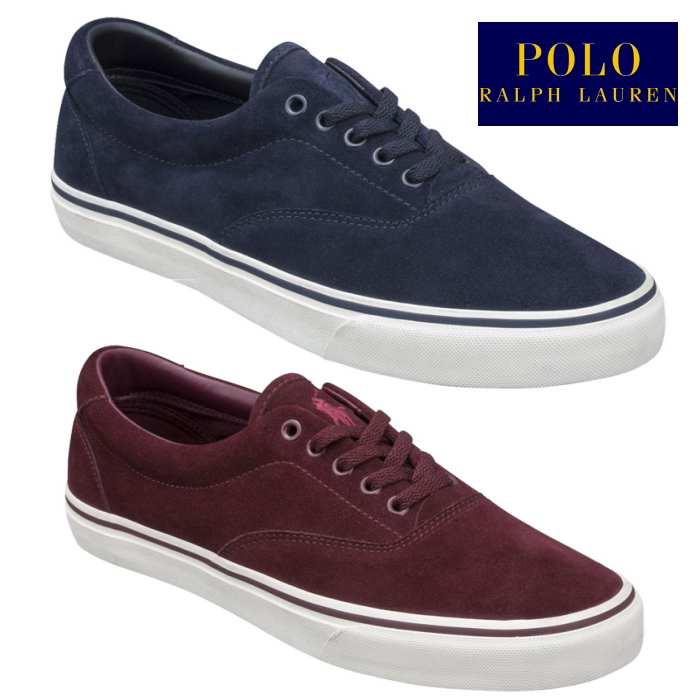 3c64f2d0ca84ad FOOTMONKEY: POLO RALPH LAUREN polo Ralph Lauren sneakers THORTON RC07 Ralph  Lauren low-frequency cut men's regular article suede 2018 fall and winter  new ...