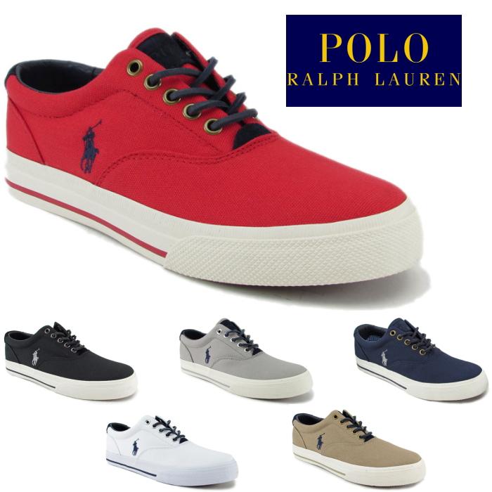 1dc28dd591 ●● Polo Ralph Lauren sneakers POLO RALPH LAUREN VAUGHN RP60 Ralph Lauren  low-frequency cut men's regular article canvas 2018 spring and summer new  ...