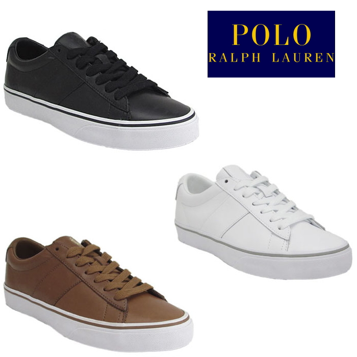 261f739f5391ce Polo Ralph Lauren sneakers POLO RALPH LAUREN SAYER RS21 Ralph Lauren low-frequency  cut men s regular article leather 2018 spring and summer new work