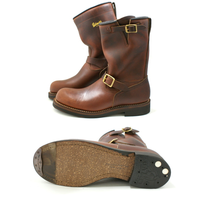 ROLLING DUB TRIO CONQUER Engineer Boots 〔棕色〕男靴 男装靴 日本制造