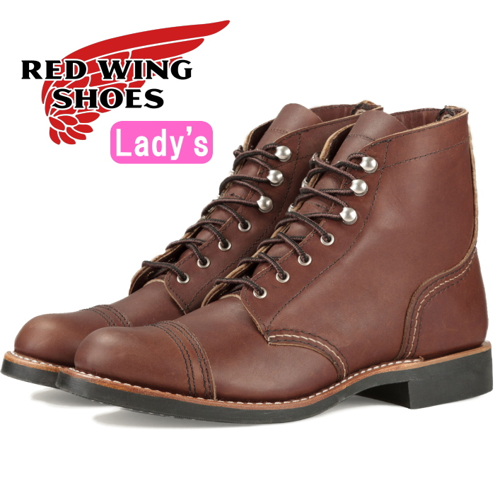RED WING 3365 レッドウィング ブーツ レディース 本革 [Amber
