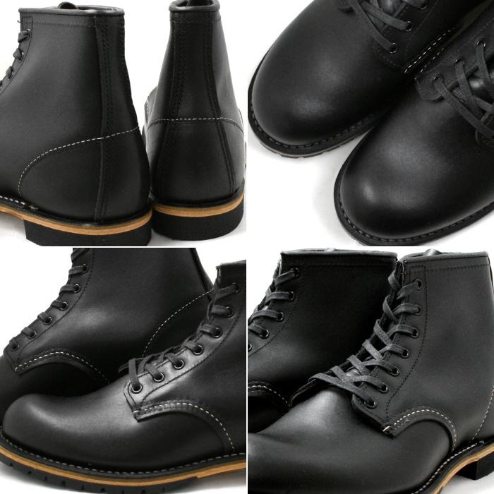 レッドウィング REDWING ベックマン BECKMAN ブーツ 9014ブラックワークブーツ RED WIN34jLAR5