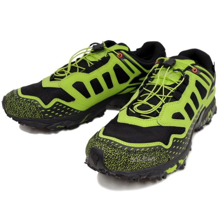 081afdacad2 サレワ SALEWA MS ULTRA TRAIN GTX 64410  0972 Black Out Green  shoes men GORE  TEX Gore-Tex waterproofing MICHELIN Michelin outdoor hiking shoes trekking  ...