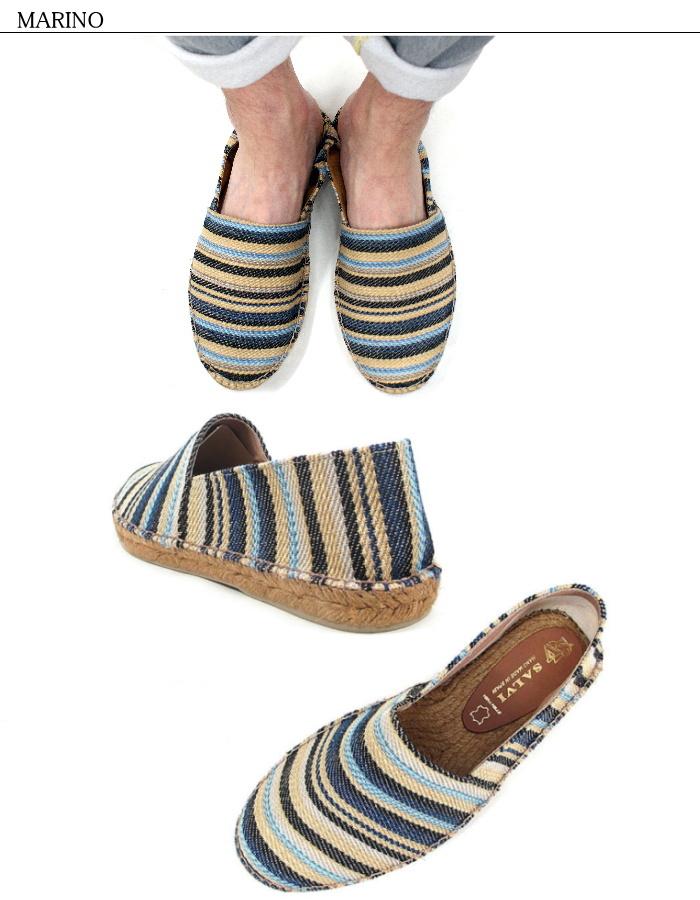 Salvi espadrille mens slip-on SALVI SLIP-ON JUTE STRIPE ART44-60 made in Spain men's shoes shoes casual espadrew for men men's shoes effortlessly Chin slip-on flat shoes summer disposal