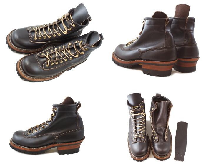 """白人烟跳线白人靴子白色靴 6""""烟跳线 350VLTT [暗褐色] 工作引导男装男式靴子 _ _"""