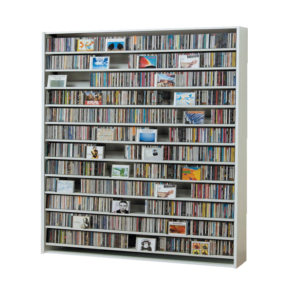 CDラック CD STOCKER ショップ気分でCDを大量収納! CS1668 1668枚 DVD720枚【送料無料】