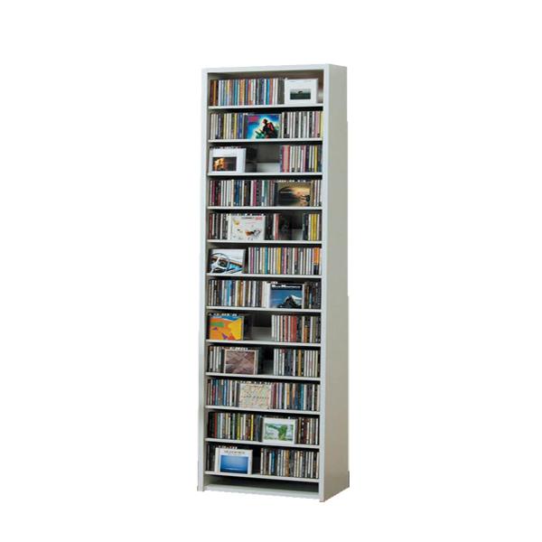 CDラック CD STOCKER ショップ気分でCDを大量収納! CS540 540枚 DVD232枚【送料無料】