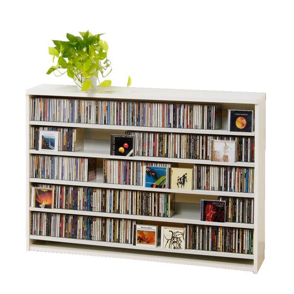 CDラック CD STOCKER ショップ気分でCDを大量収納! CS695L CD695枚 DVD180枚【送料無料】