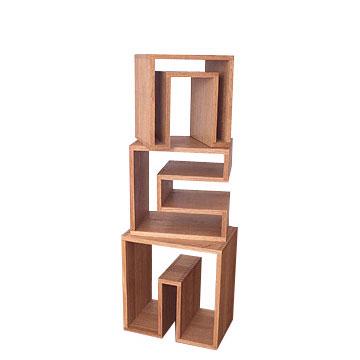 【送料無料】SHOJI series ショージシリーズ nesting table ネスティングテーブル【送料無料】