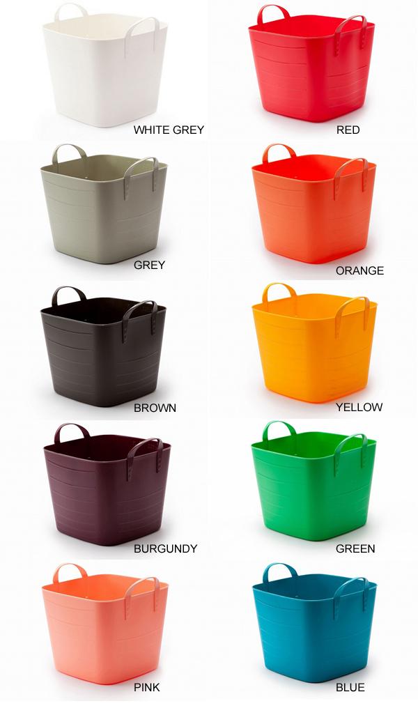 baquet吊桶L尺寸/40L(stacksto,STAX脚趾|收藏桶,收藏箱,自由的箱,堆积箱)