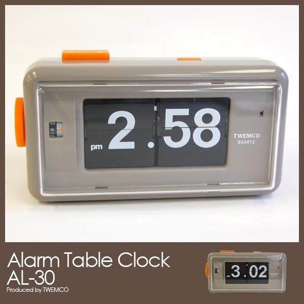 【限定製作】 Twemco Gray Alarm トゥエンコ社 Table Clock AL-30 Gray AL-30 トゥエンコ社 アラームテーブルクロック, オオヨドチョウ:3ea98f45 --- hortafacil.dominiotemporario.com