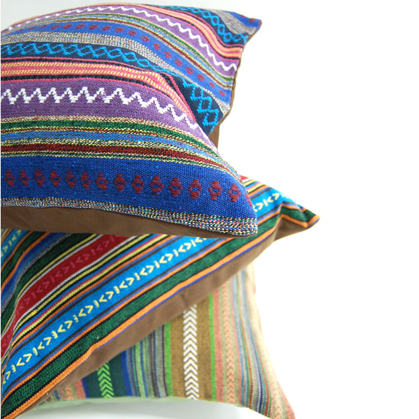 靠垫覆盖物45*45cm mekishikandobikusshonkaba(Mexic Dobby Cushion Cover)Merck洛杉矶Mercros mekishikodobi織边缘