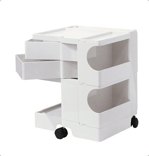 ボビーワゴン Boby Wagon 2段2トレイ ホワイト ブラック ボビーワゴン【送料無料】【ジョエ・コロンボ】【ミッドセンチュリー】