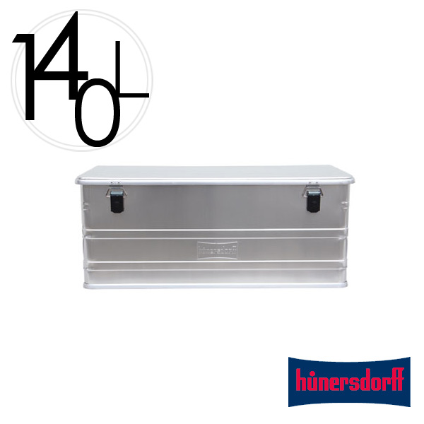収納 ボックス 140L ヒューナースドルフ Aluminium Profi Box 140L アルミニウム プロフィー ボックス Hunersdorff