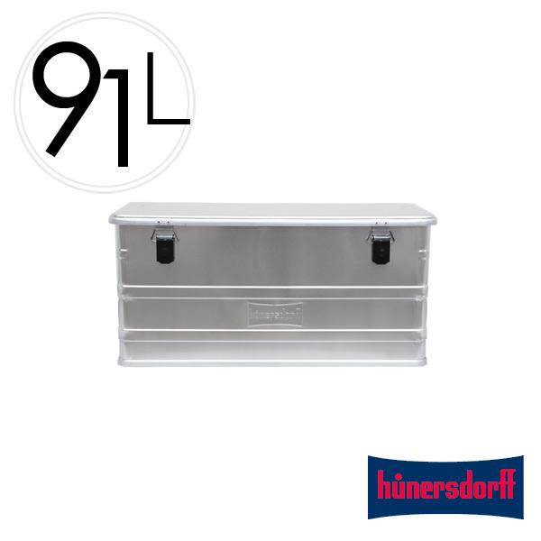 収納 ボックス 91L ヒューナースドルフ Aluminium Profi Box 91L アルミニウム プロフィー ボックス Hunersdorff