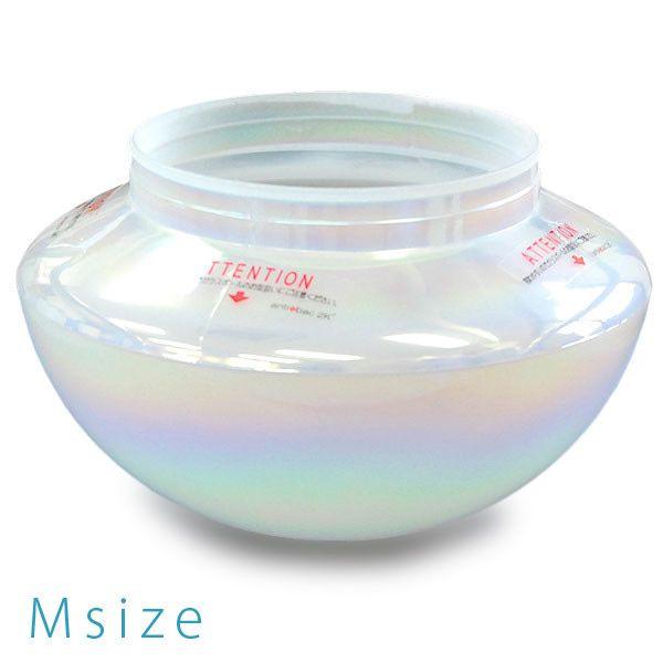 マジックボール 専用ガラスボール Mサイズ レインボーコーティング (専用パーツ)