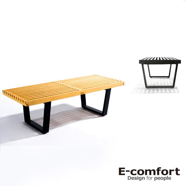 イーコンフォート ネルソンプラットフォームベンチ ジョージ・ネルソンデザイン ジェネリックプロダクツ(E-comfort Nelson Platform Bench) E-comfort【送料無料】