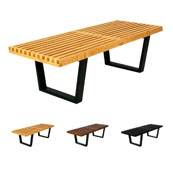 【送料無料】イーコンフォート Nelson Platform Bench(ネルソンプラットフォームベンチ/E-comfort) 再生産 E-comfort ジョージ・ネルソン