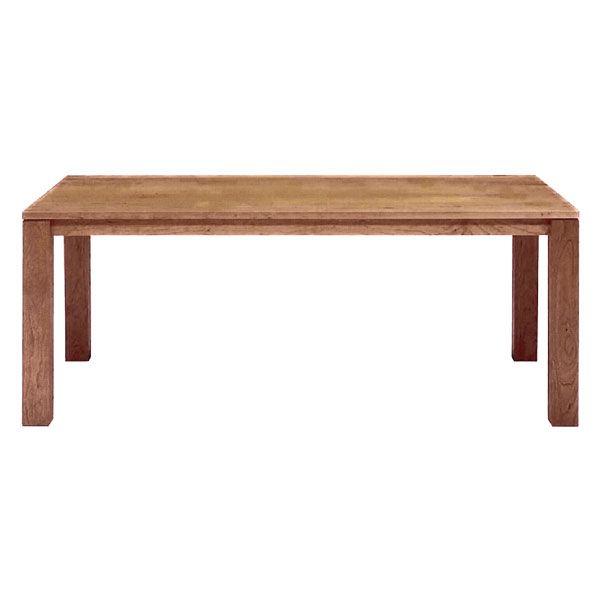 リーブステーブル 180 ウォールナット ハードメープル【送料無料】