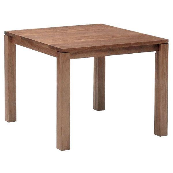リーブステーブル スクエアテーブル 110 ハイタイプ ウォールナット ハードメープル【送料無料】