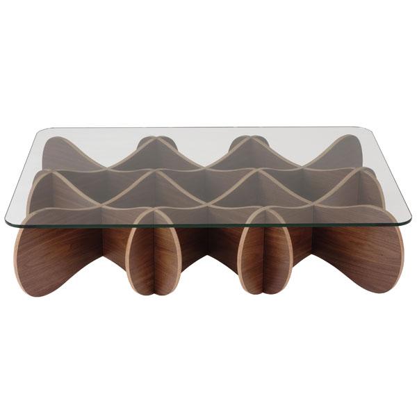 【送料無料】MATRIX TABLE マトリックステーブル110 ブラックウォールナット(BWN)