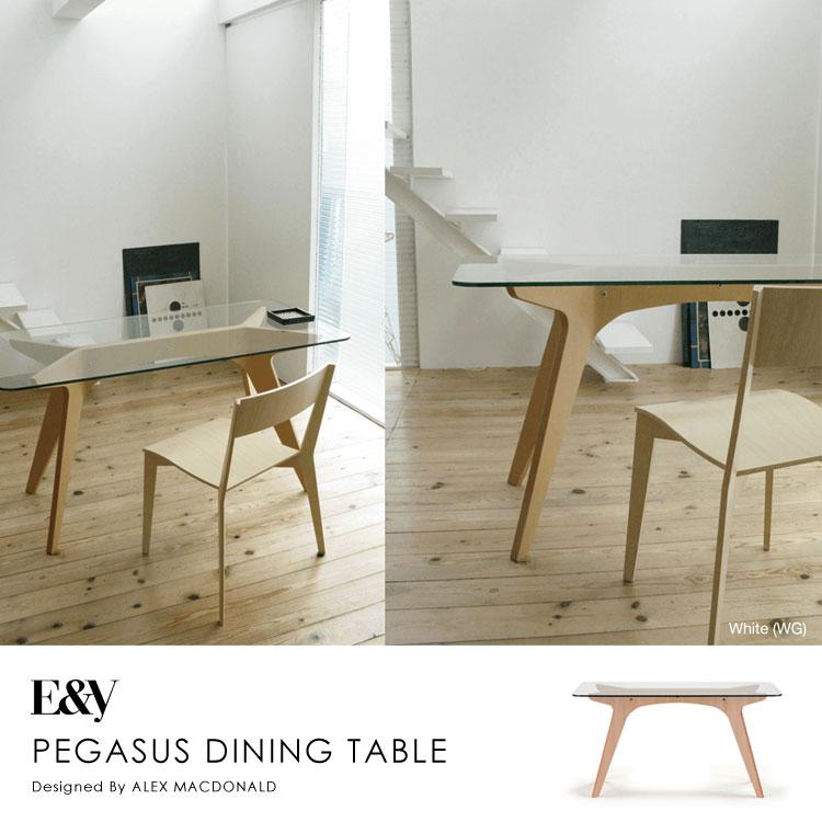 ペガサスダイニングテーブルPEGASUS DINING TABLE 140【送料無料】