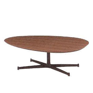 リビングテーブル エッグ ウォールナット