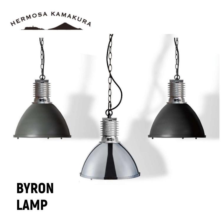 【送料無料 ポイント10倍】BYRON LAMP バイロンランプ インダストリアルデザイン 1灯 HERMOSA 湘南 鎌倉 西海岸 照明 かわいい