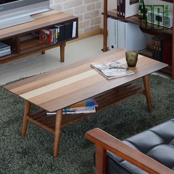 【送料無料】センターテーブル YOGEAR(ヨギア) YOCT-100 木製 コーヒーテーブル 折り畳みテーブル【送料無料】