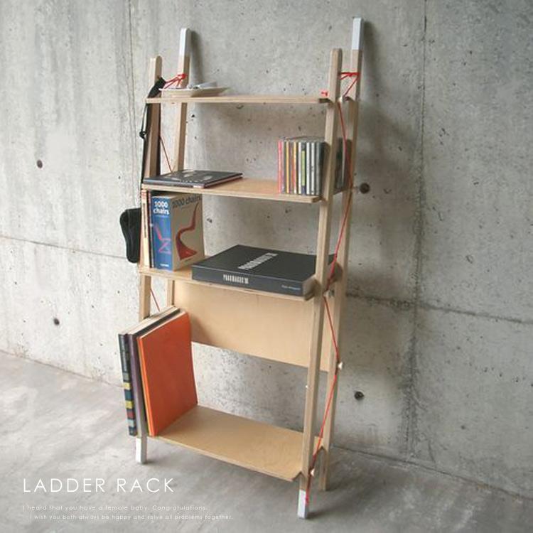 【送料無料】ラダーラック-ダブル(LadderRack-double) シェルフ 収納棚 シューズラック 本棚 サイドボード