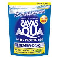 ザバス アクアホエイプロテイン100 グレープフルーツ風味(無果汁) 840g(約40食分)[配送区分:A]