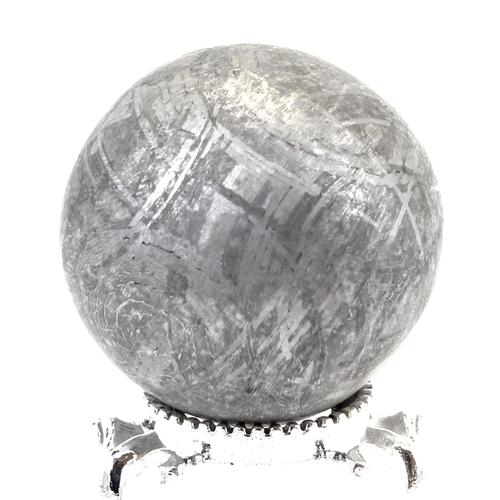 約26mm 天然隕石 メテオライト ギベオン鉄隕石 丸玉 スフィア【FORESTパワーストーン】〔 天然石 パワーストーン アクセサリー 〕