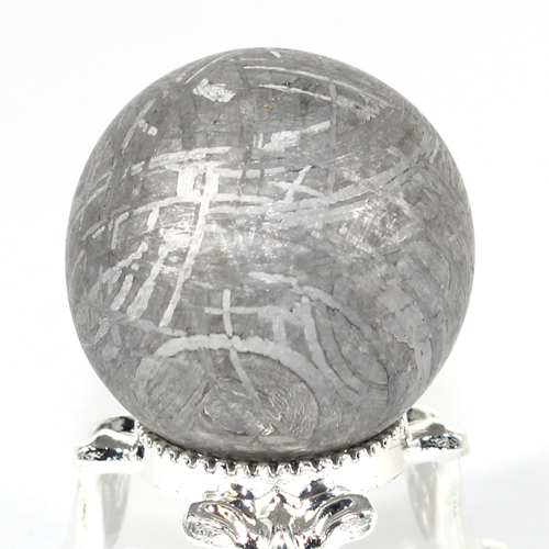 約24mm 天然隕石 メテオライト ギベオン鉄隕石 丸玉 スフィア【FORESTパワーストーン】〔 天然石 パワーストーン アクセサリー 〕