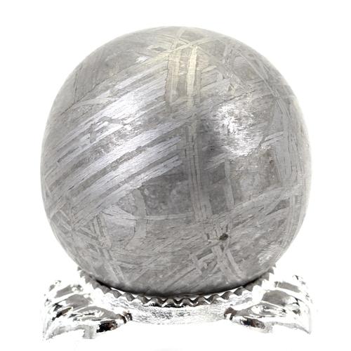 約30mm 天然隕石 メテオライト ギベオン鉄隕石 丸玉 スフィア【FORESTパワーストーン】〔 天然石 パワーストーン アクセサリー 〕
