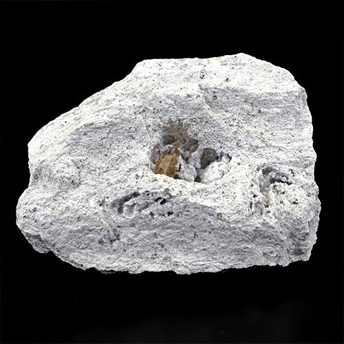 インペリアル トパーズ アメリカ ユタ州 母岩付き結晶〔 天然石 パワーストーン アクセサリー 〕